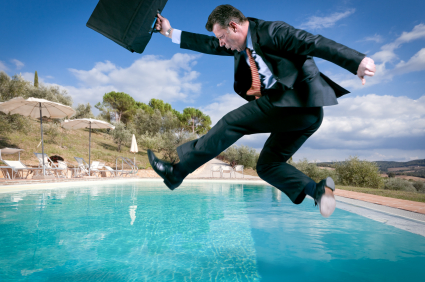 Take the Plunge: Action = Improvement and Success