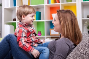 Parent and Child Talking