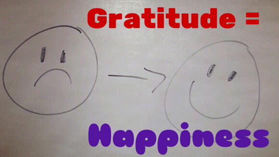 Gratitude is the Key to Happiness