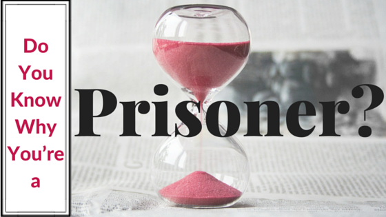 Do You Know Why You're a Prisoner-